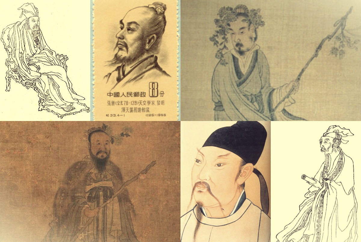 Čínští básníci (Su Tung Pcho, Čang Cheng, Tchao Jüan-Ming, Čchü Jüan, LiPo, PO Ťü-i)