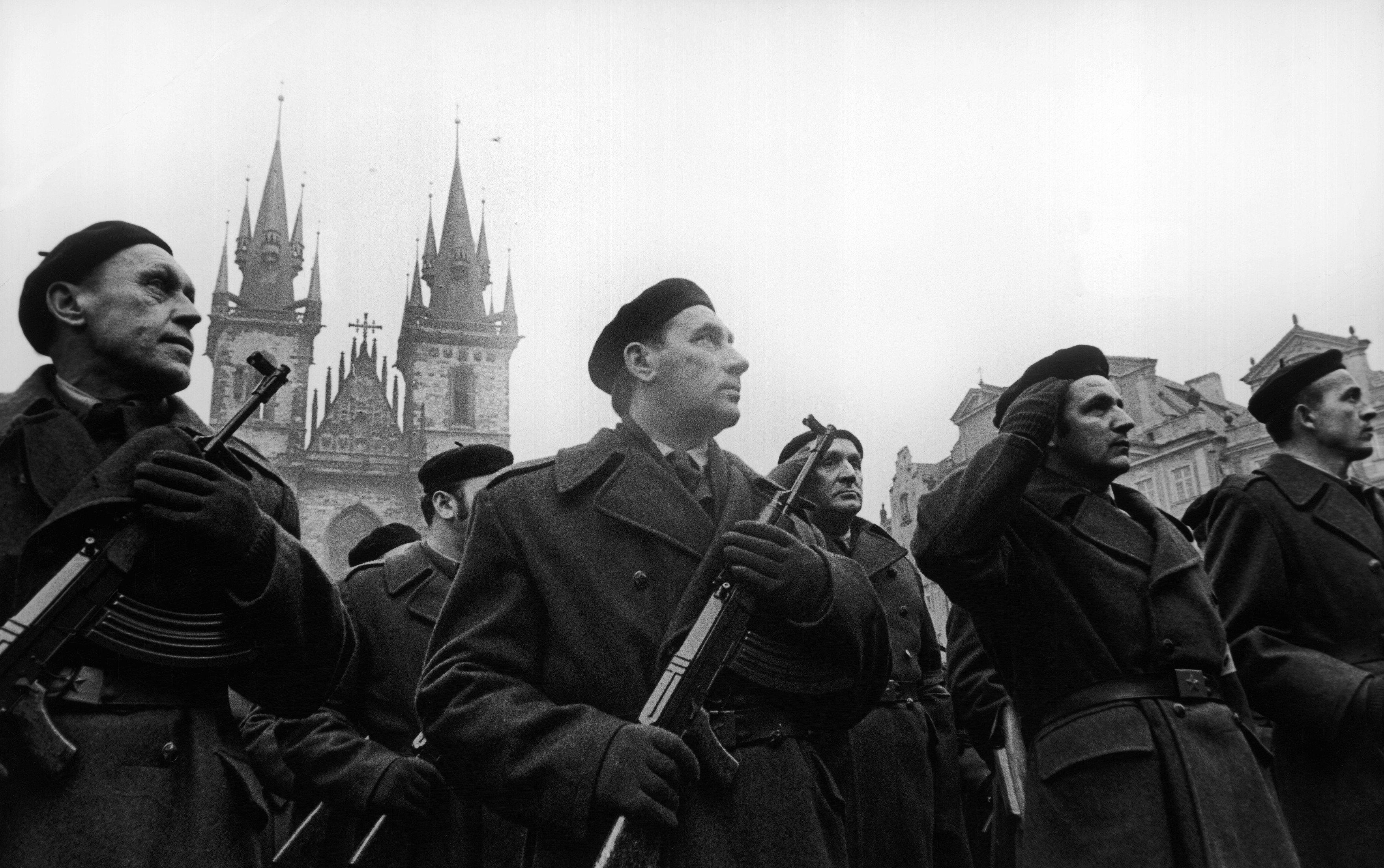 Lidové milice, únor 1948