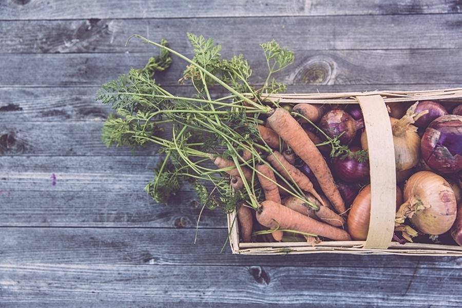 Bednička se zeleninou