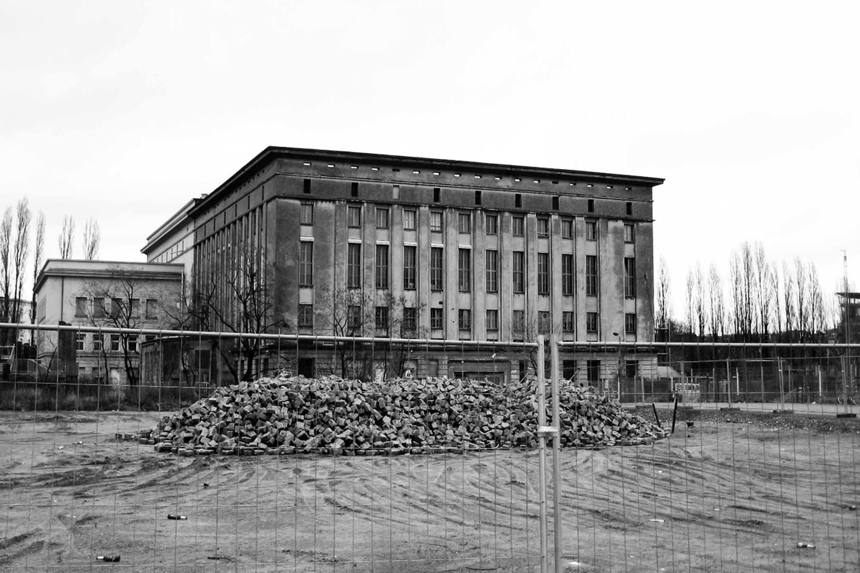 Kultovní berlínský klub Berghain