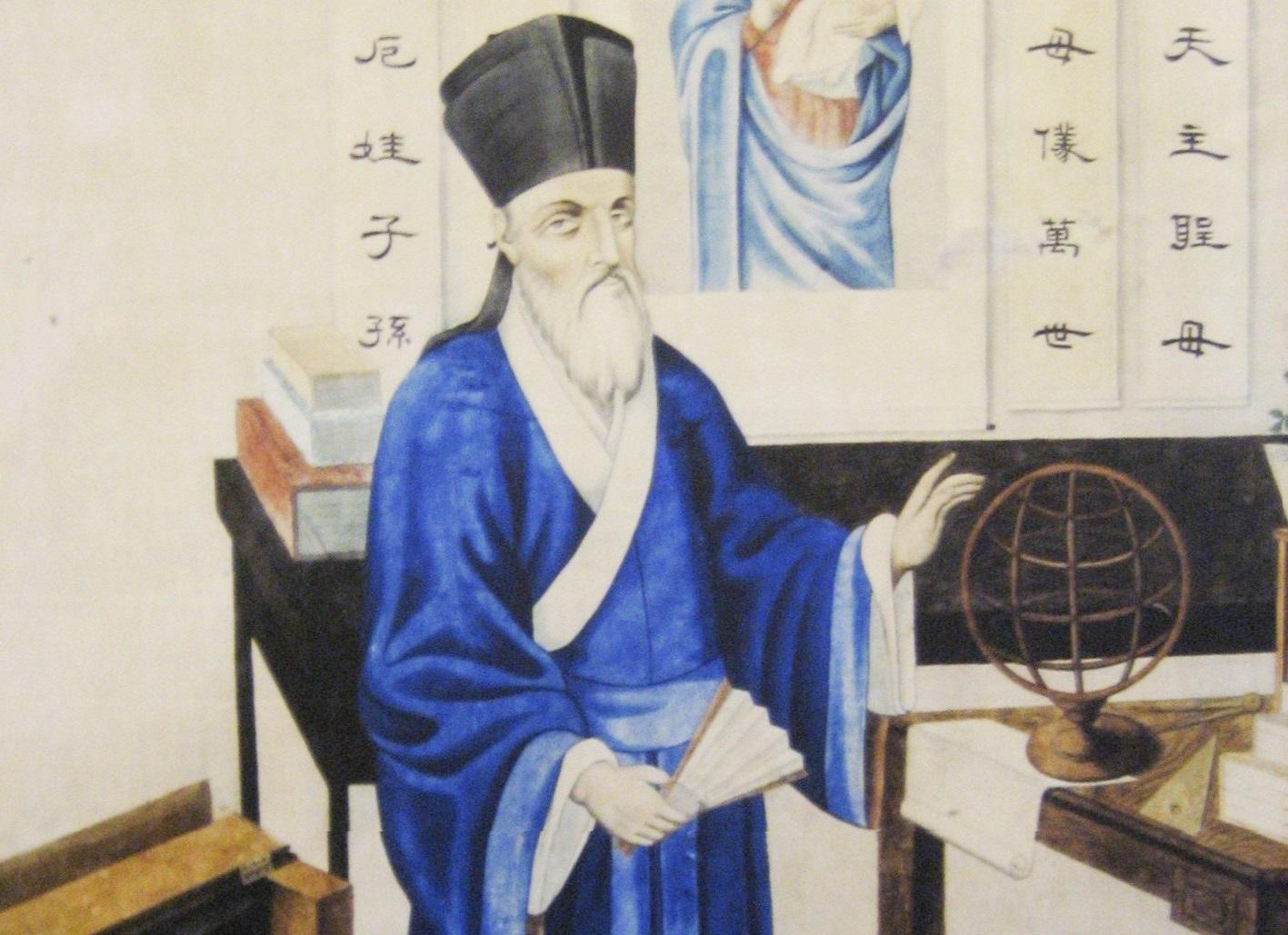 Matteo Ricci, jeden ze zakladatelů jezuitských misií v Číně