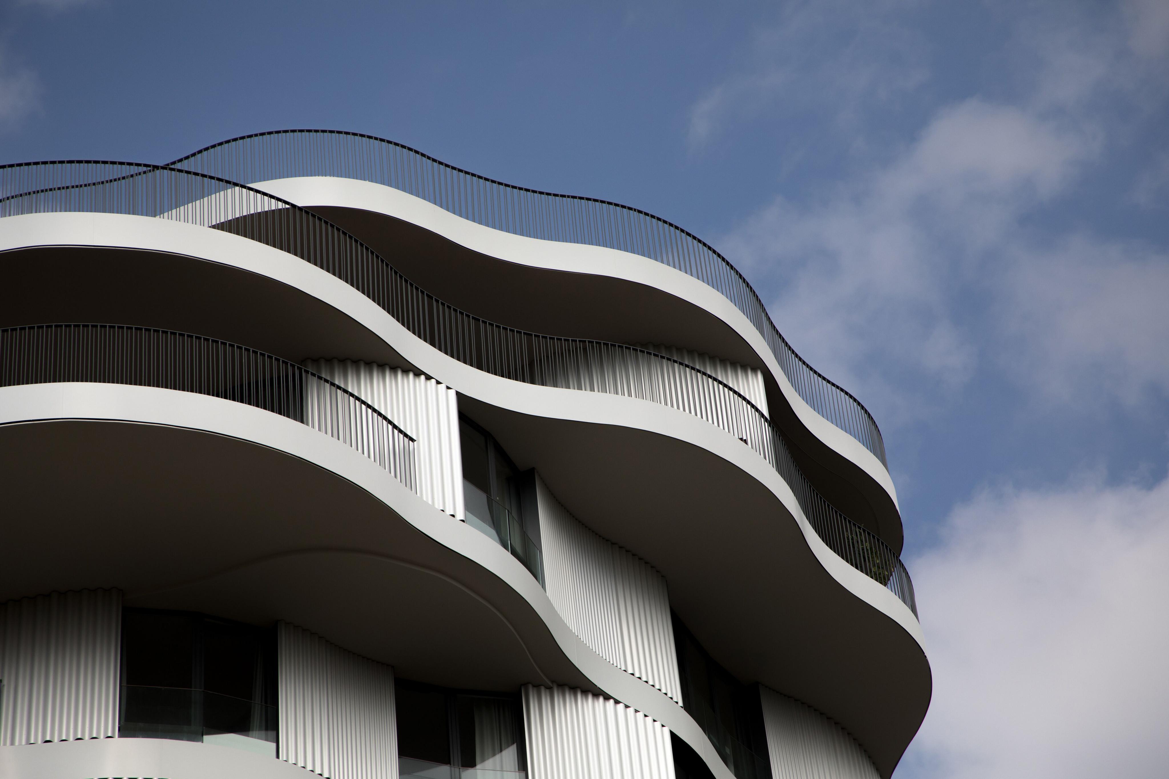 Dům navržený Farshid Moussavi v Montpellier