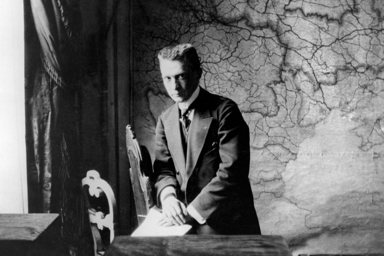 Alexandr Kerenskij před listopadem 1917