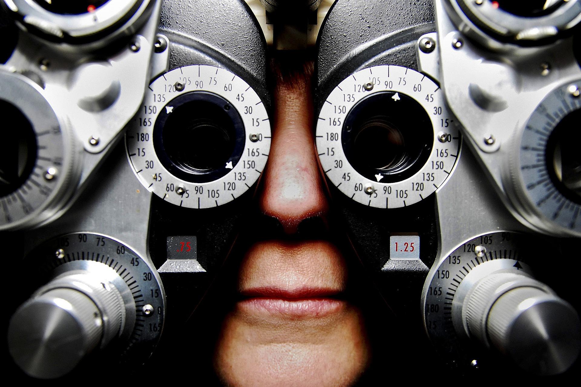 Vyšetření zraku (ilustrační foto)