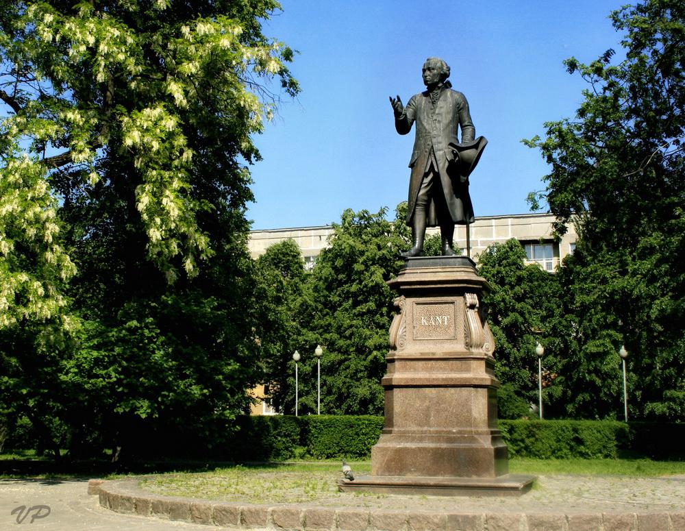 Socha Immanuela Kanta v Kaliningradu