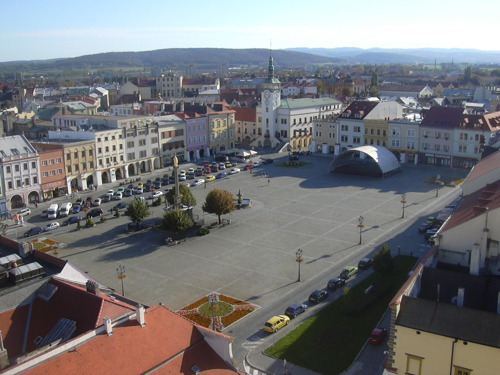 Kroměříž chce řešit dopravu v centru města