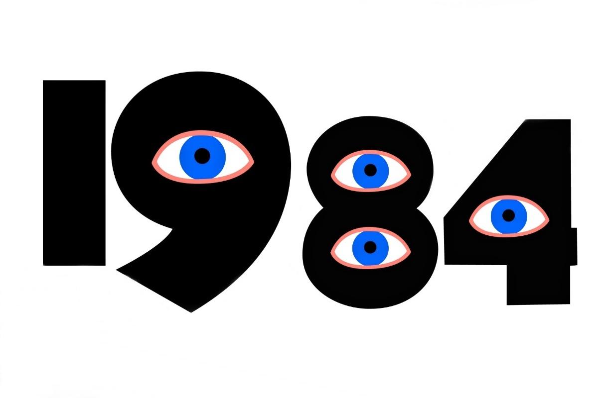 George Orwell: 1984 (ilustrační foto)