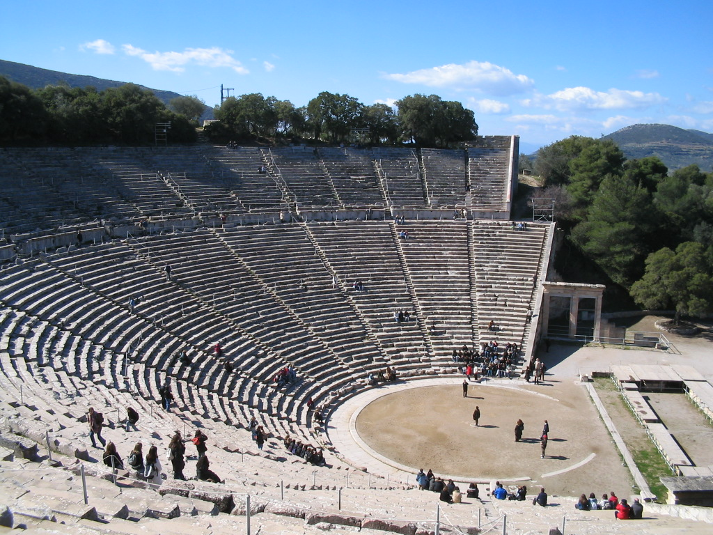 Divadlo v Epidauru