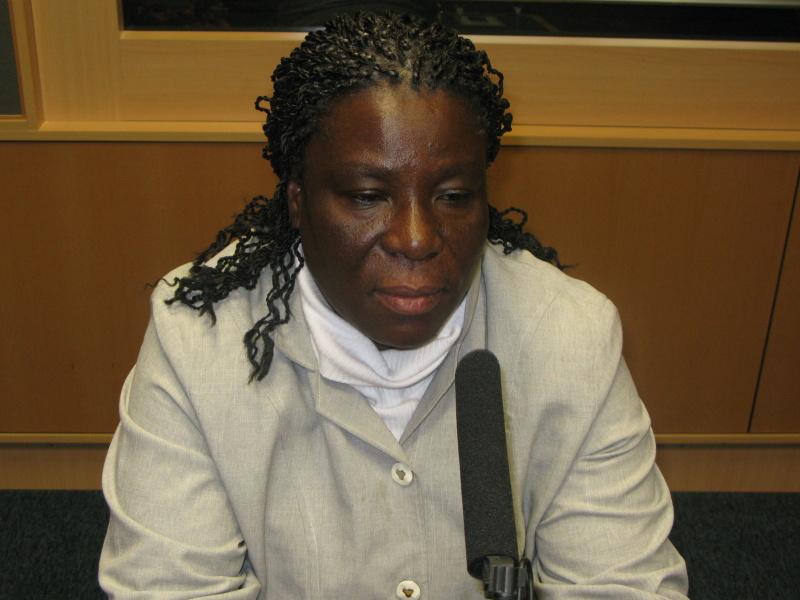 Mary Mabel Tagoe (Ghana) v ČRo Leonardo