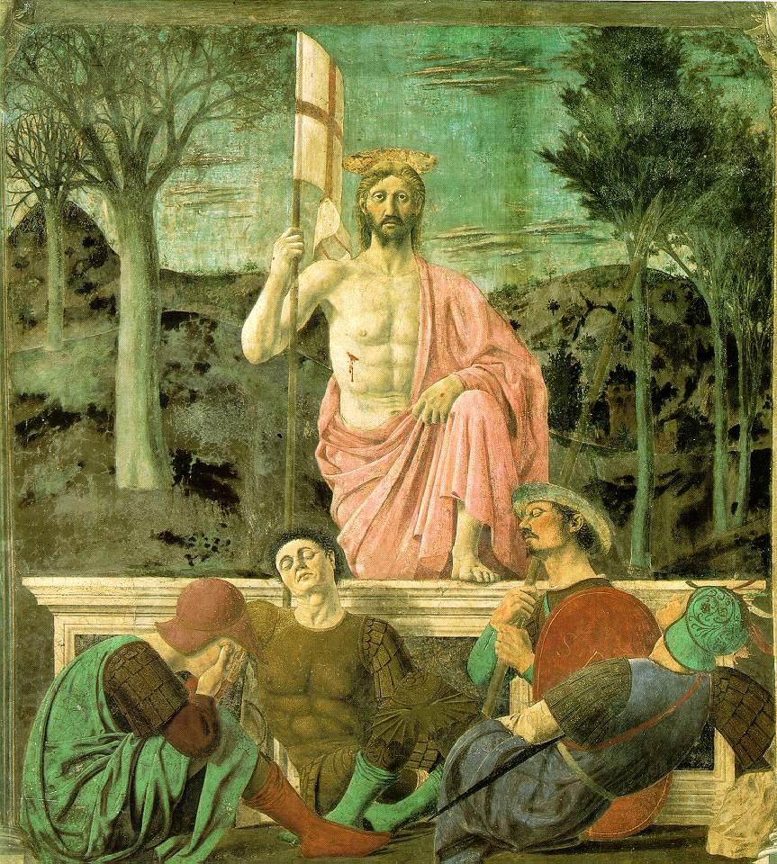 Piero della Francesca: Vzkříšení