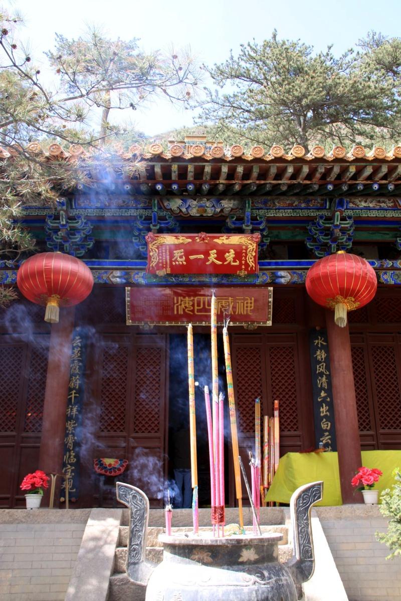Klid ke ztišení v taoistickém svatostánku