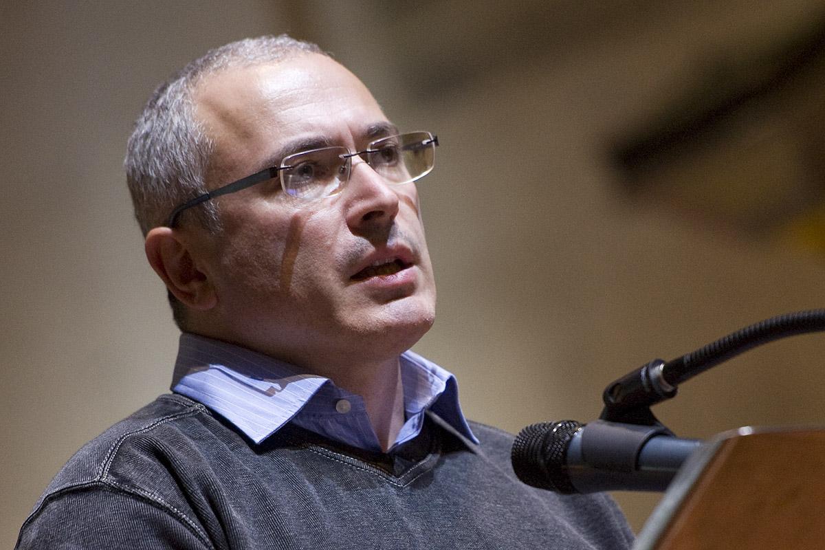 Michail Chodorkovskij, Forum 2000 v Praze