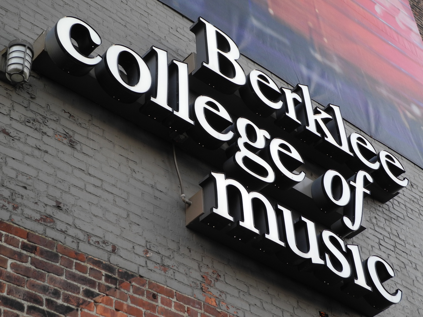 Berklee College of Music v americkém Bostonu