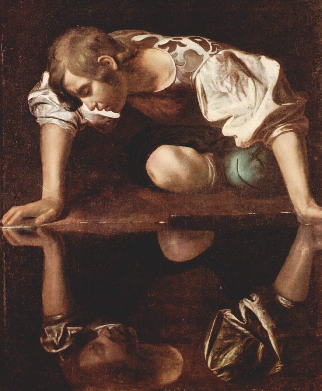 Caravaggio, Narcis (1594-1596)