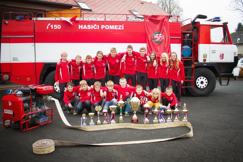 278920afec2 ... Sbor dobrovolných hasičů má několik družstev dětí
