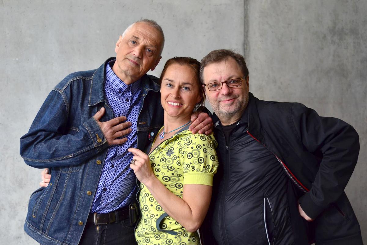 David Vávra, Lucie Výborná, Milan Šteindler