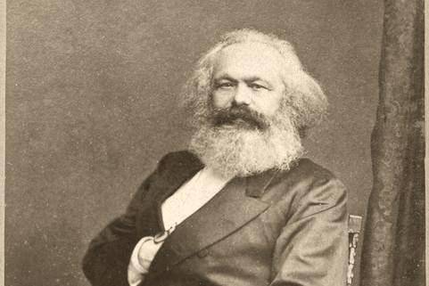 Portrét Karla Marxe