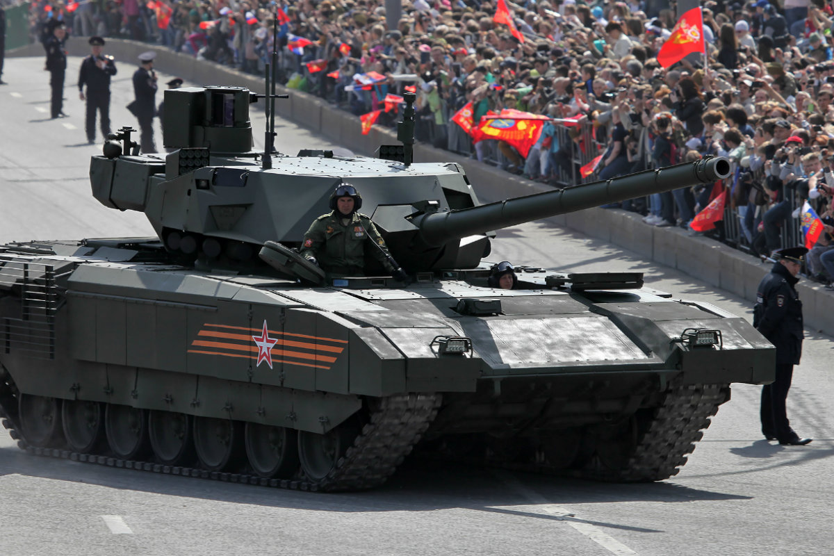 Nejnovější ruský tank T-14 Armata