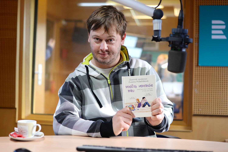 Dominik Landsman s novou knihou