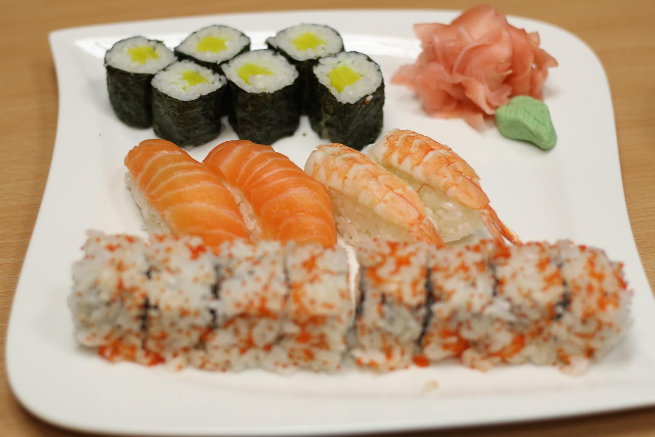 Sushi, ilustrační foto