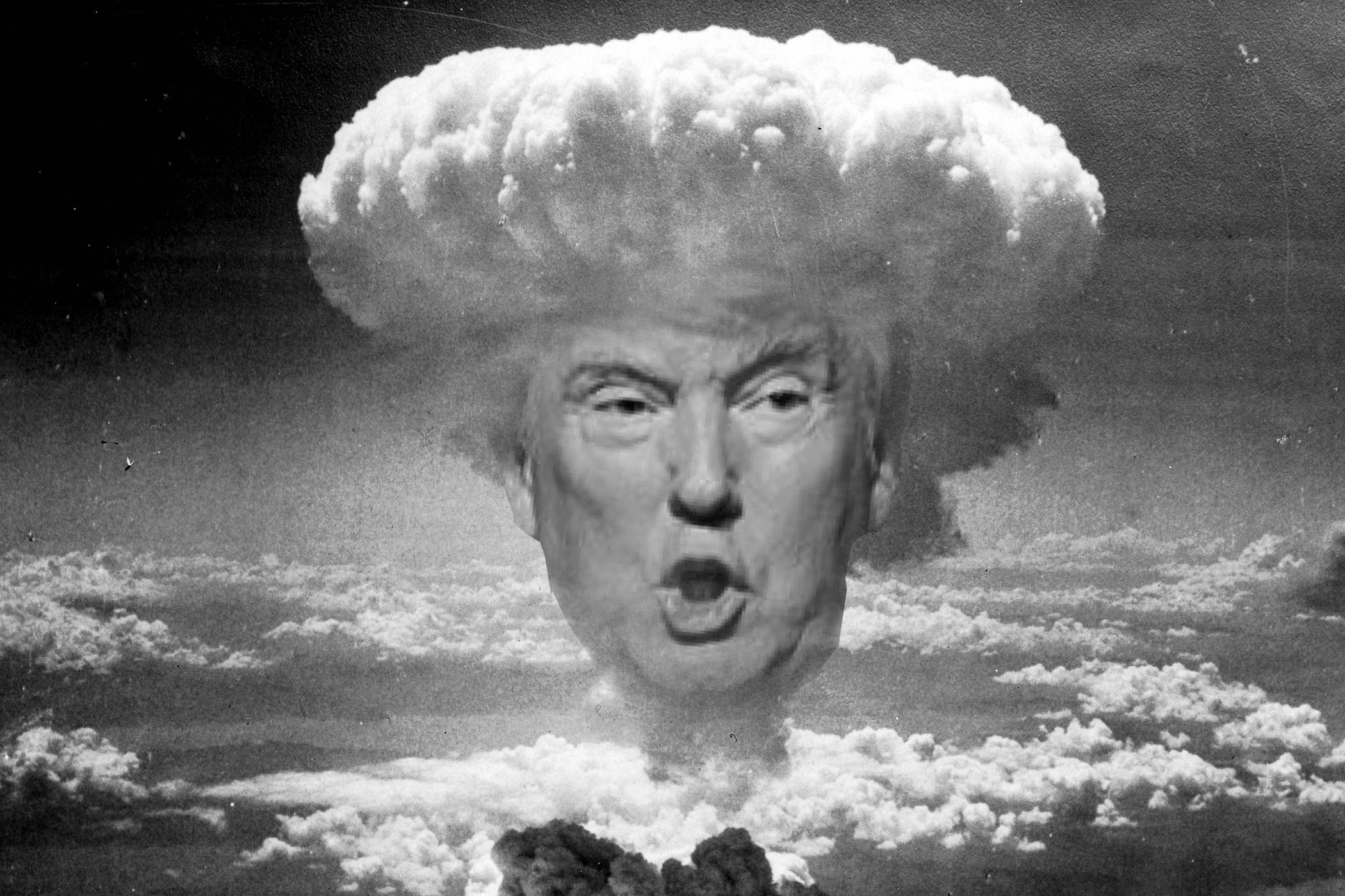 Donald Trump, karikatura