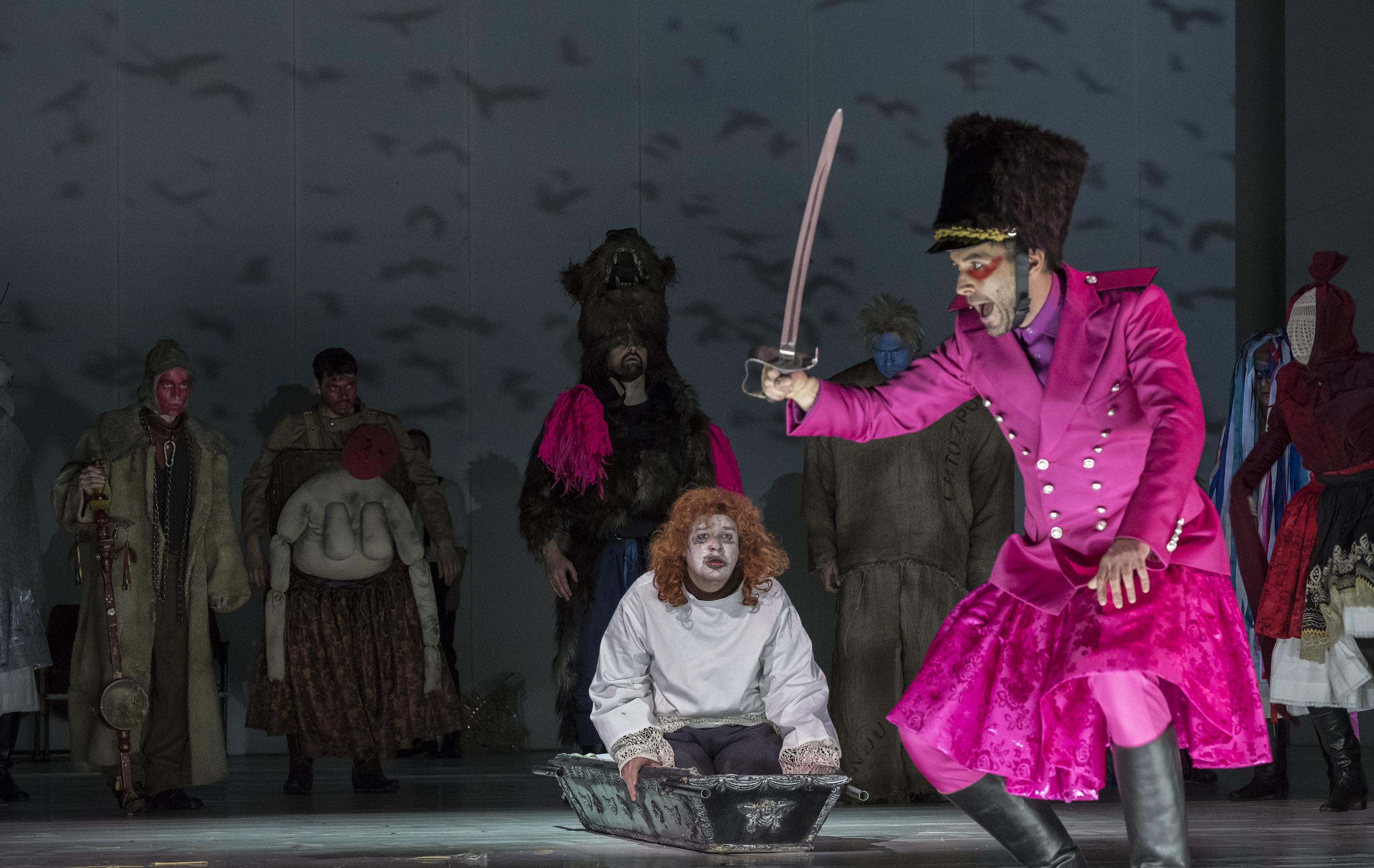 Konec masopustu ve Vinohradském divadle