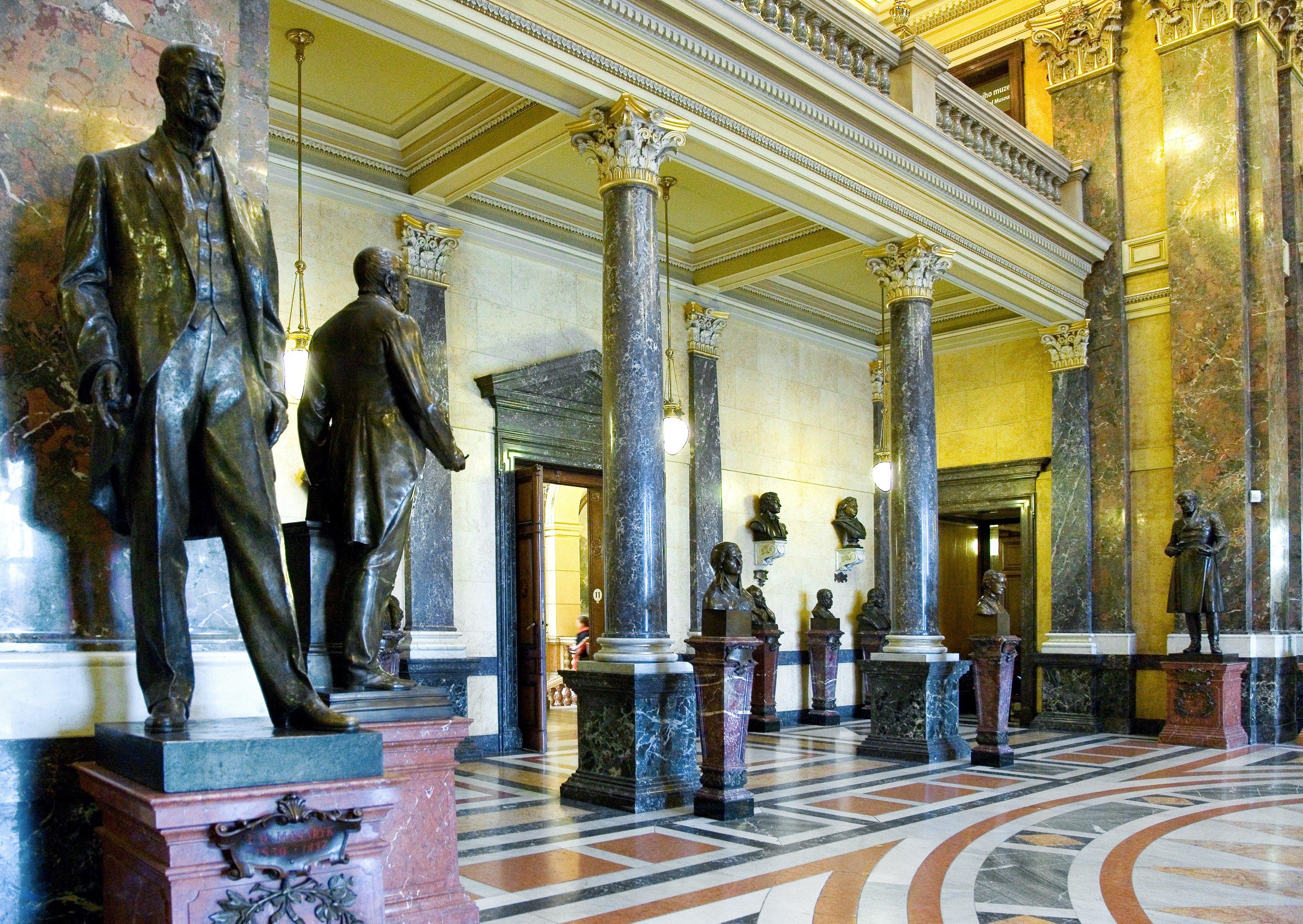 Panteon Národního muzea před rekonstrukcí