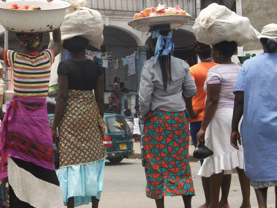 Accra, hlavní město Ghany