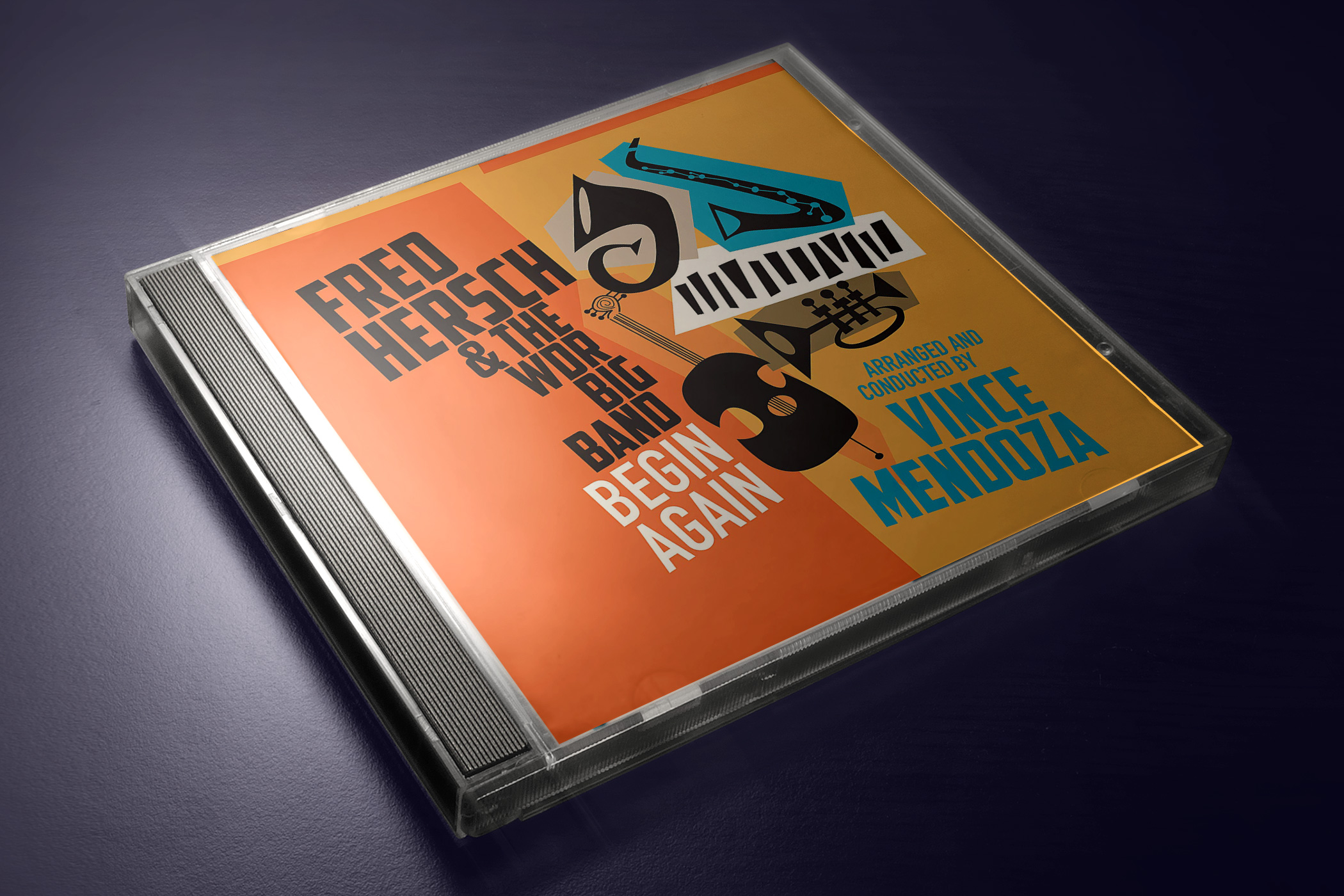 Image result for Fred Hersch & the WDR Big Band - Begin Again