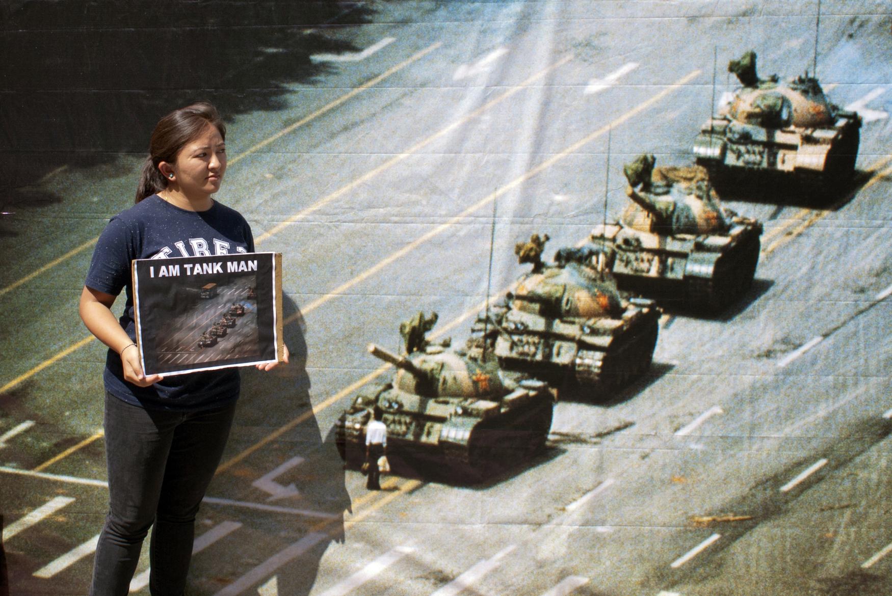 Výročí masakru na náměstí Nebeského klidu