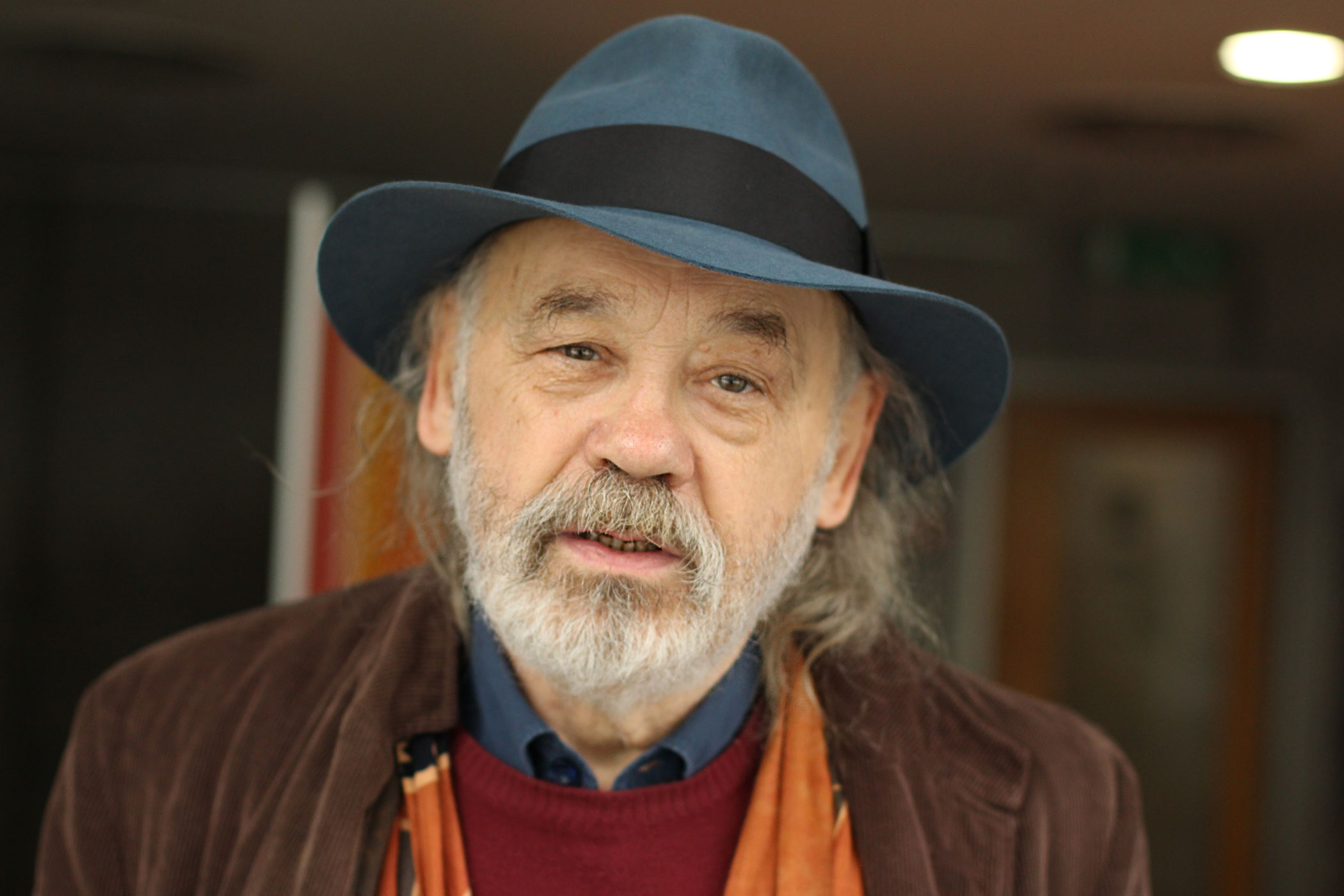 John Bok, aktivista, předseda a zakladatel spolku Šalamoun