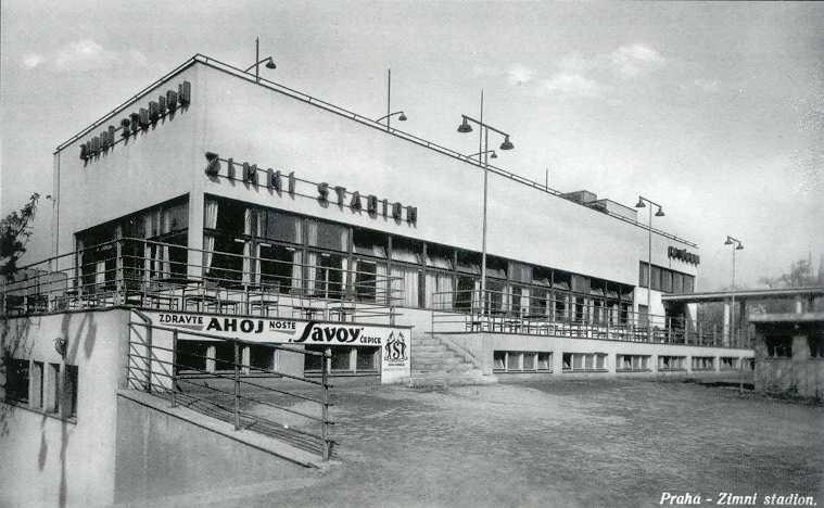 První stadion s umělou ledovou plochou v Československu