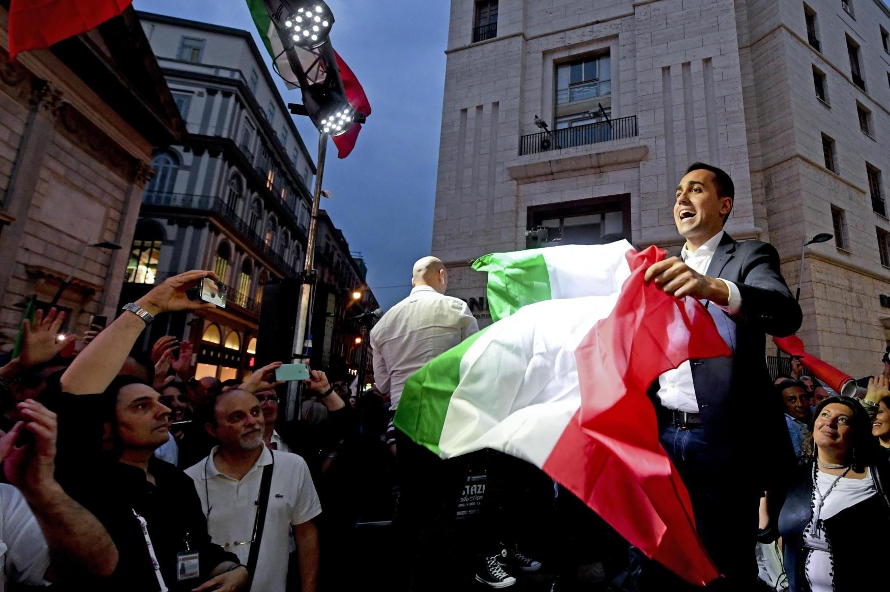 Luigi Di Maio, šéf populistického Hnutí pěti hvězd