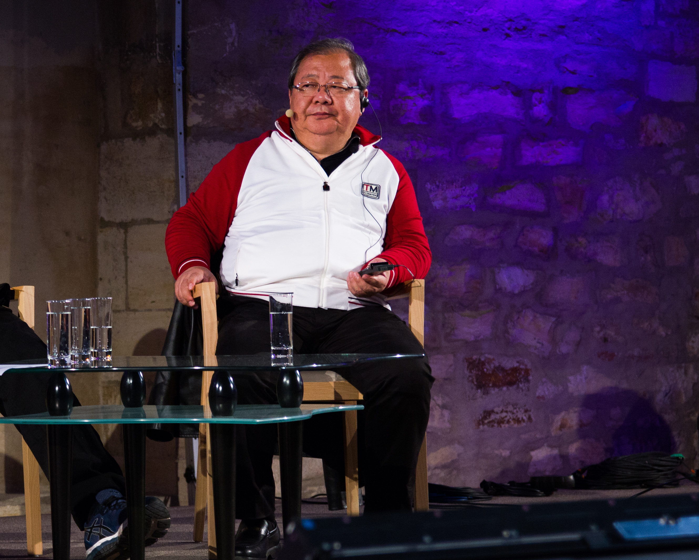 Jidi Majia na Festivalu spisovatelů, 2018