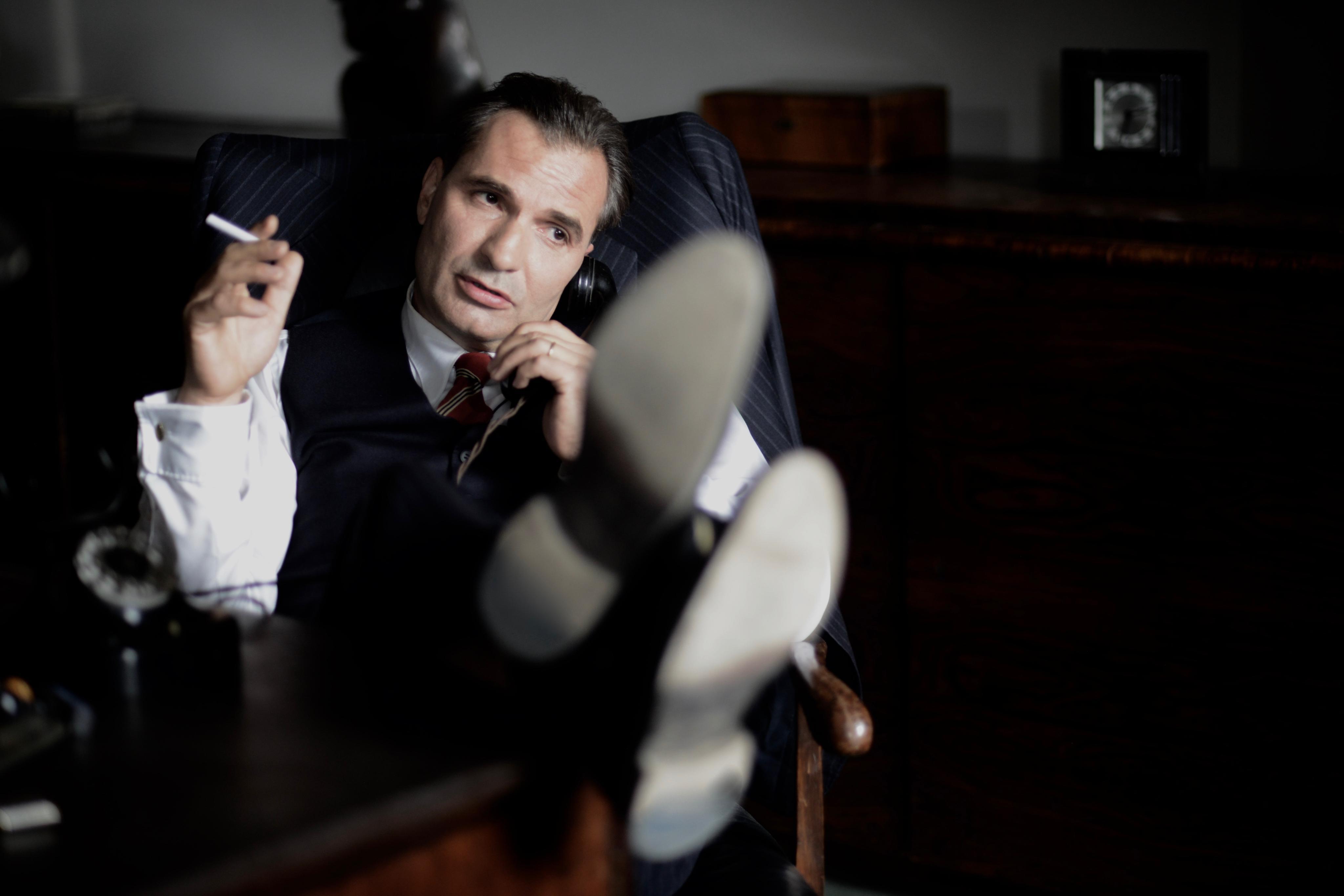 Jiří Macháček ve filmu Toman