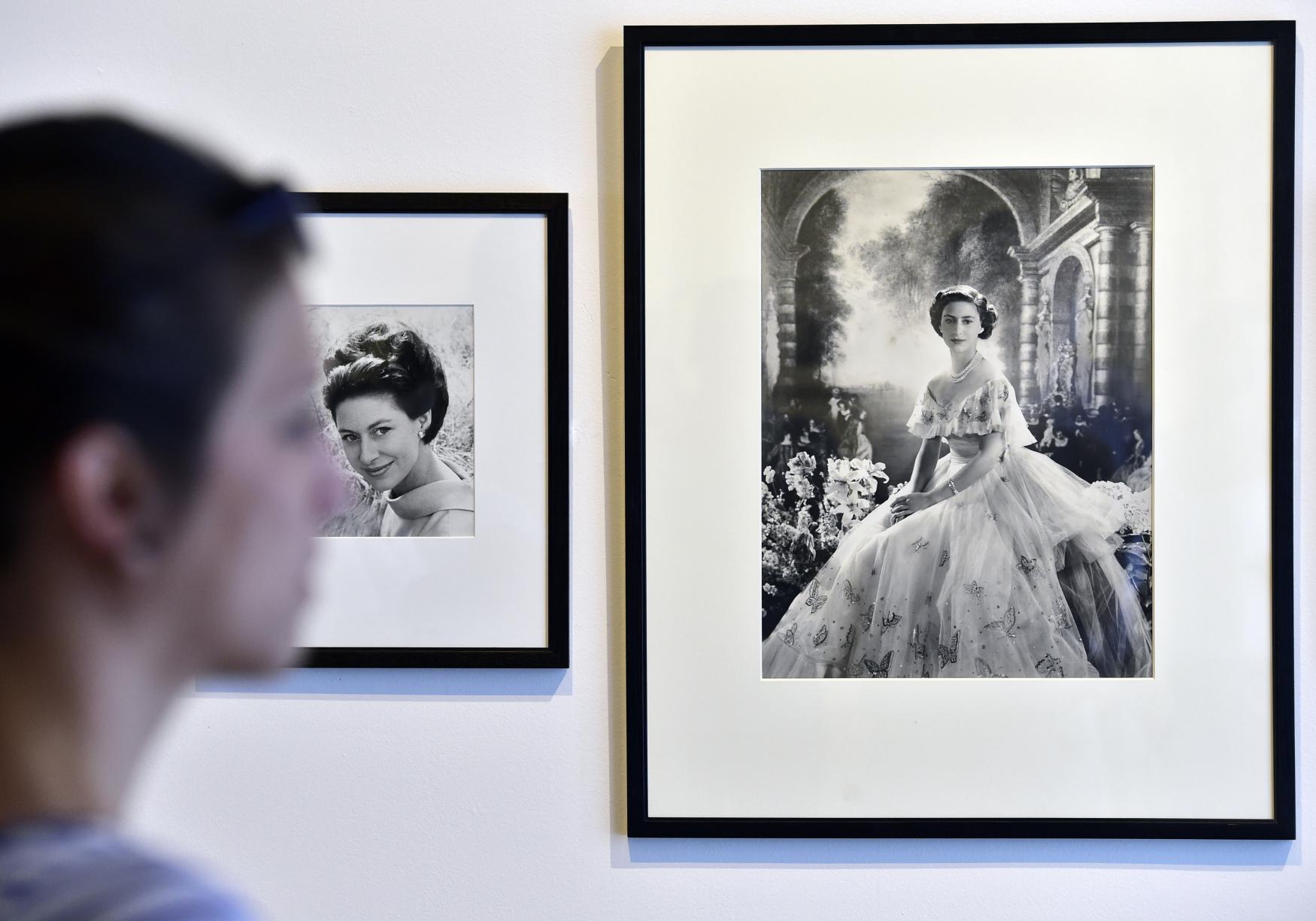 Z výstavy Cecil Beaton - fotograf královen