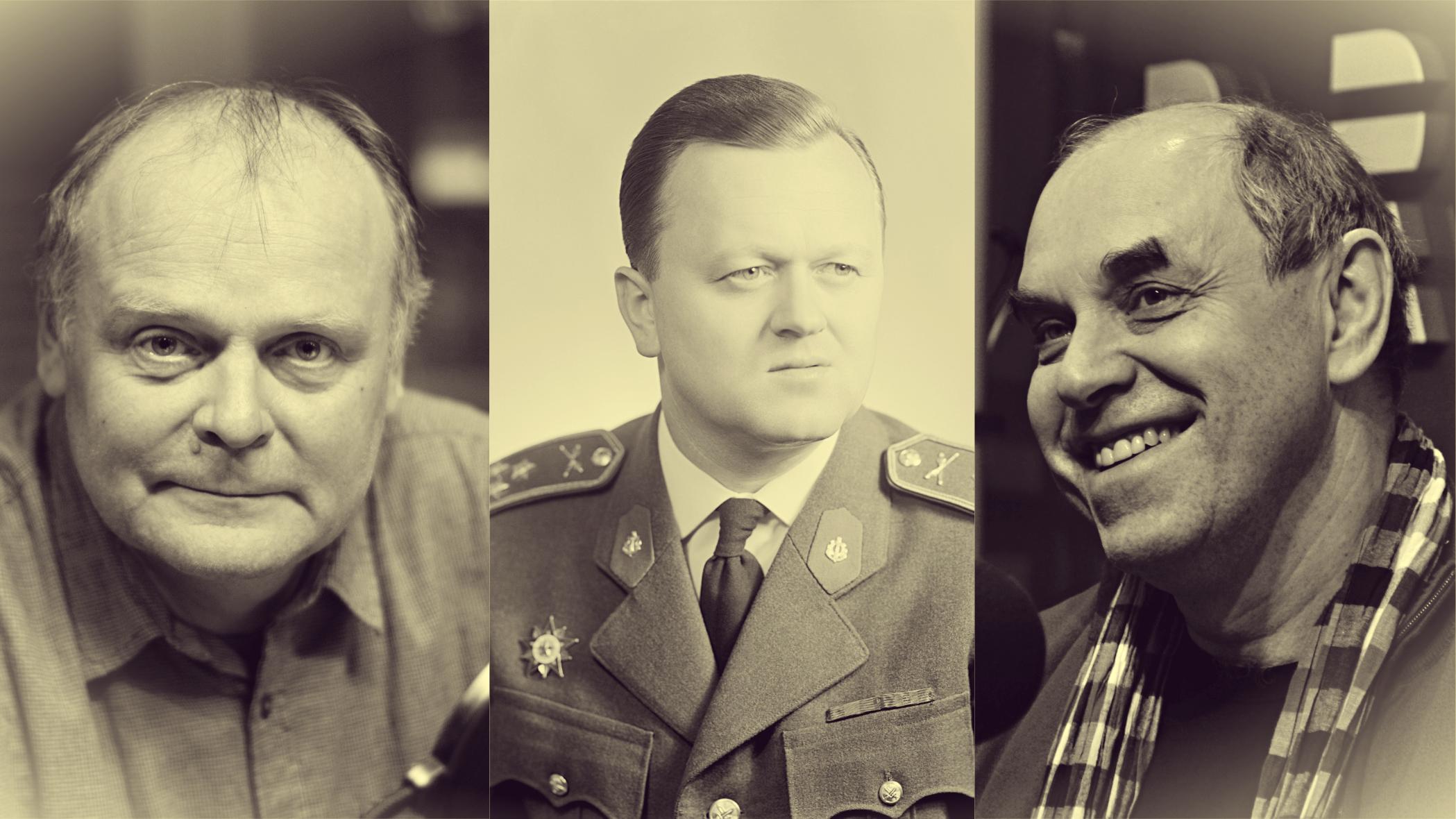 Tomáš Vůjtek: Zápas o generála (ilustrační koláž). Igor Bareš, Jan Šejna, Miroslav Táborský
