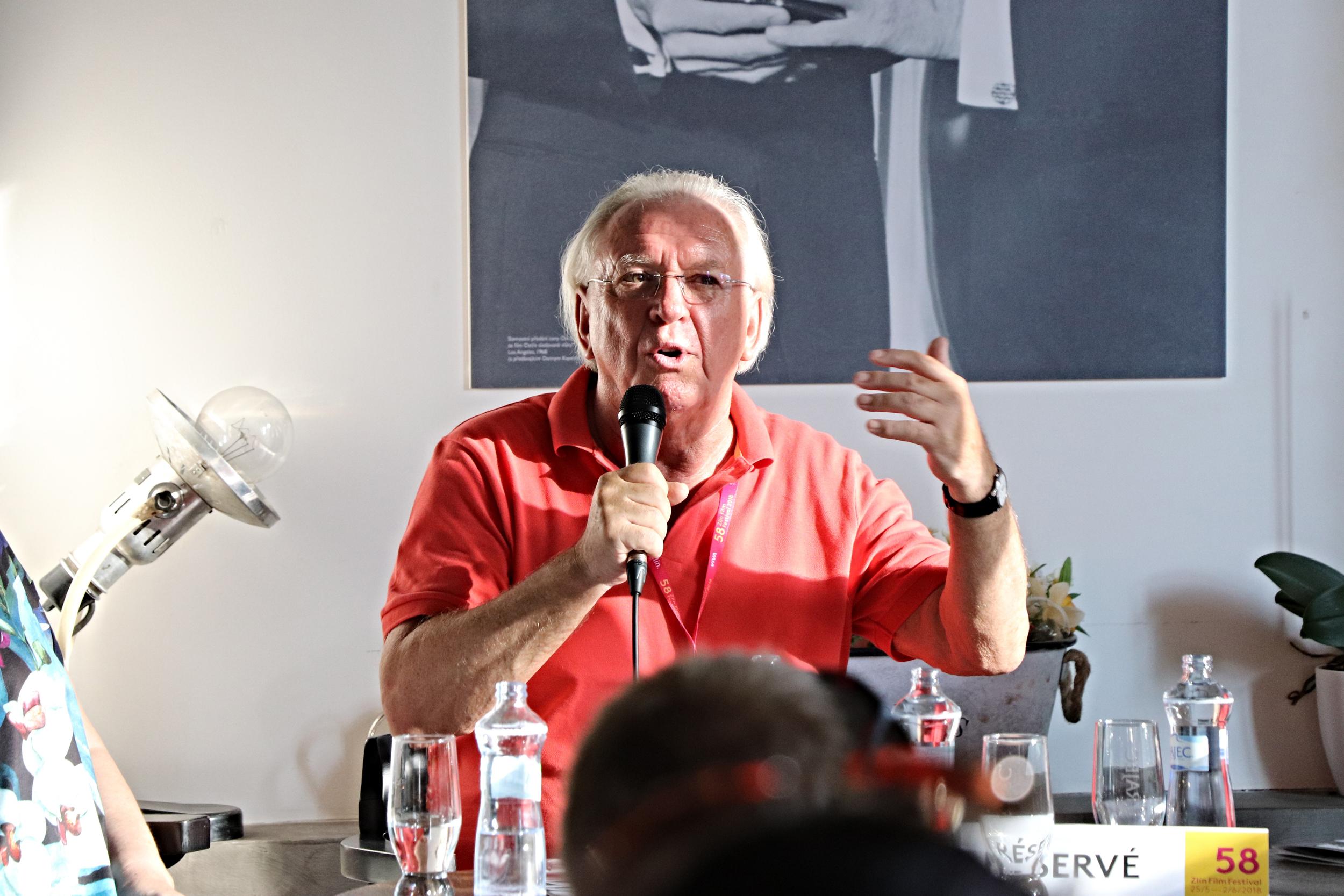 Jaromír Hanzlík na Zlín Film Festivalu