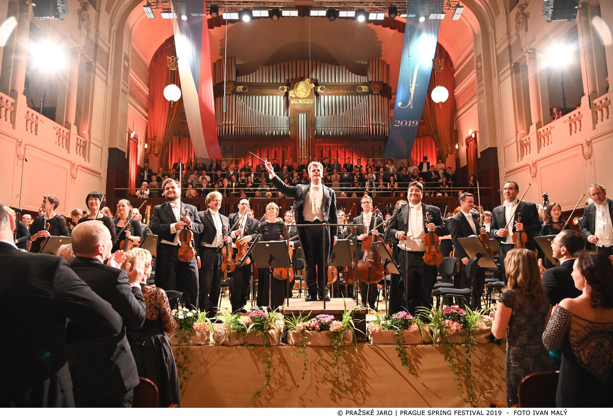 Zahajovací koncert Pražského jara 2019, Bamberger Symphoniker, Jakub Hrůša