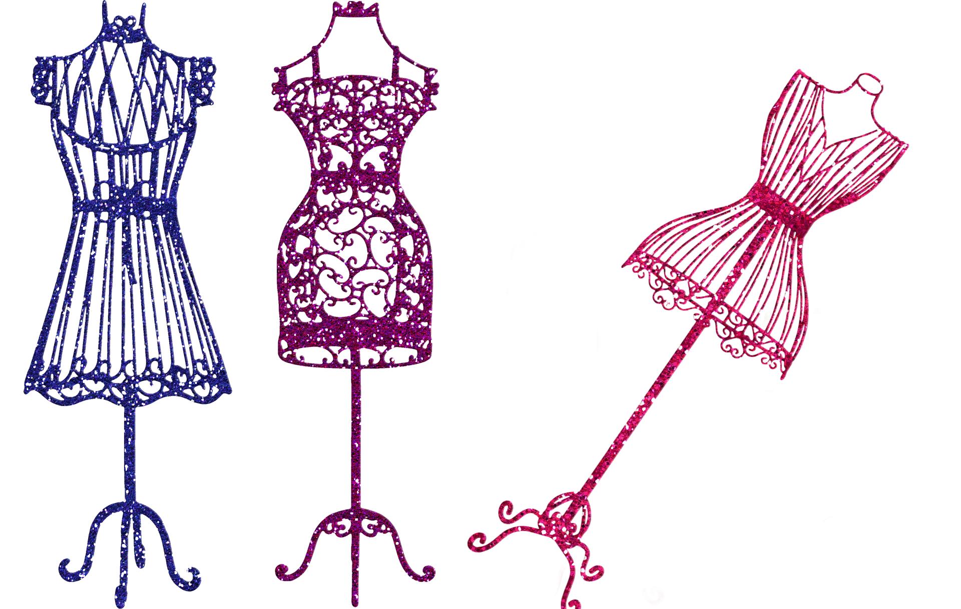 Krejčovská panna, oděvní návrhářství (ilustrace)