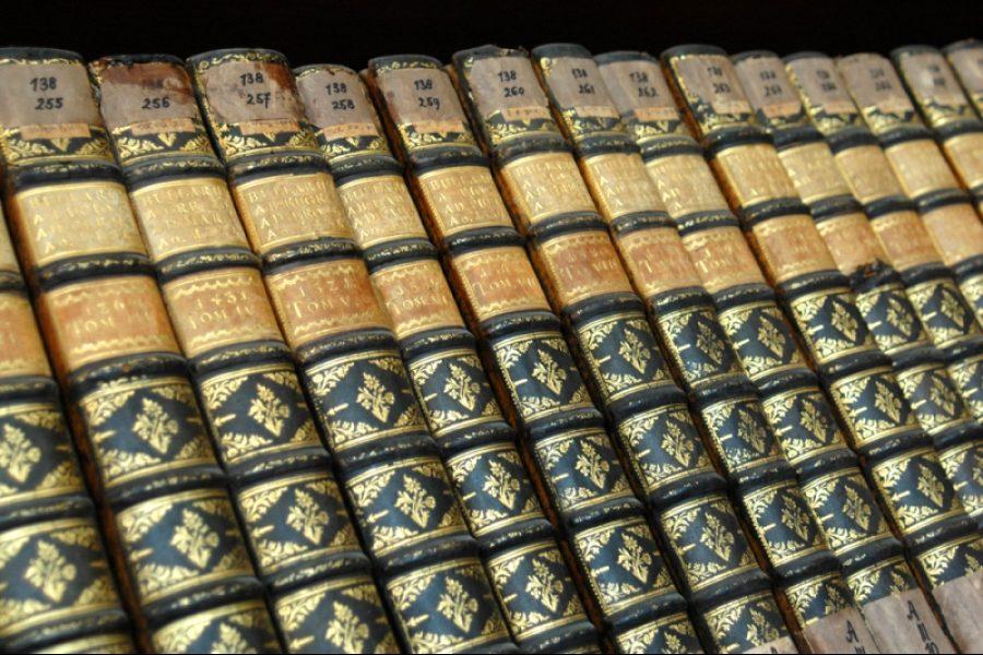 Knihy, ilustrační foto