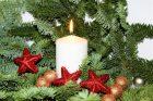 Vánoční svíčka (ilustrační foto)