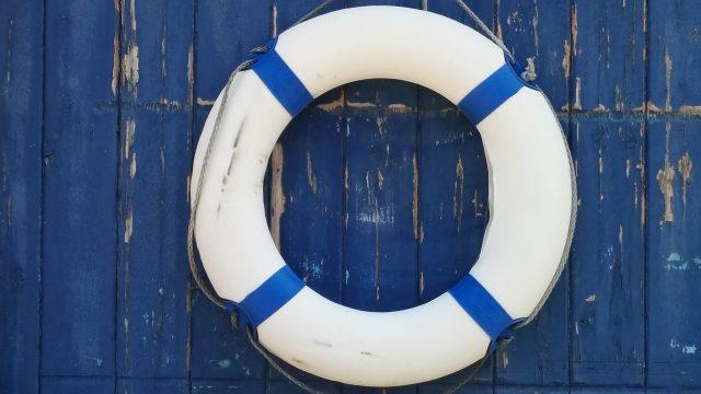 Člun, plovák, kruh, námořník