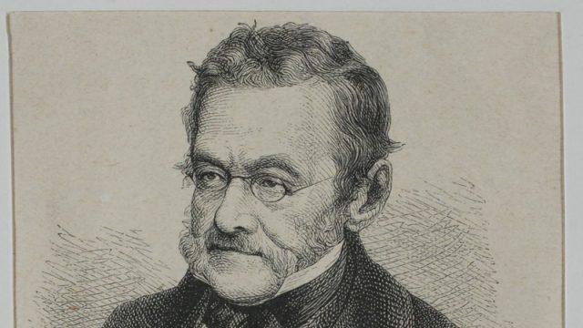 Spisovatel a publicista Charles Sealsfield, pravým jménem Carl Postl