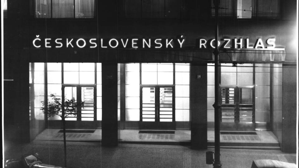 Budova Československého rozhlasu, 1936