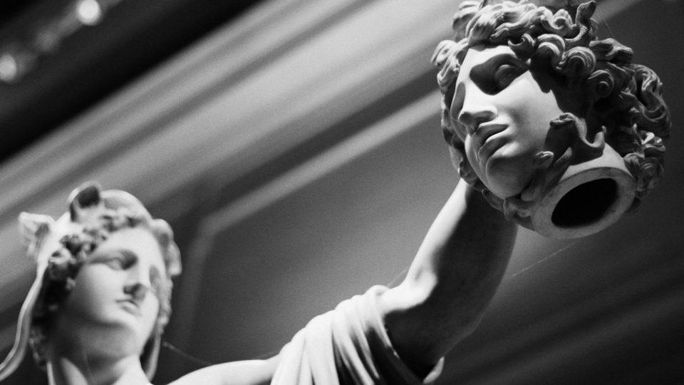 Perseus a Medusa