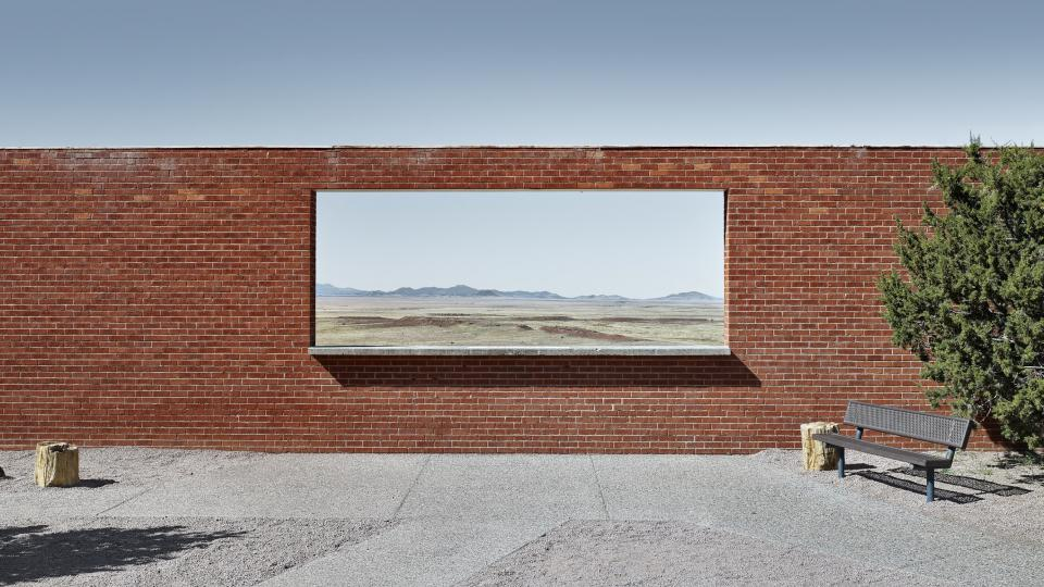 Architectural photography award 2017: The Wall Frame, Arizona, Barrington Crater entrance compound, Arizona, 2015