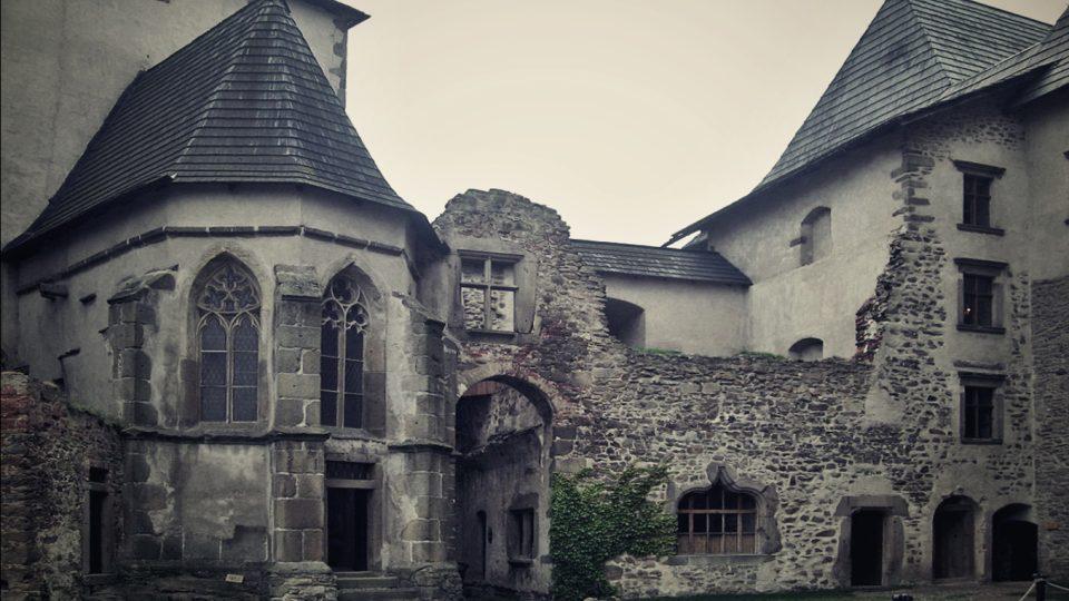Zřícenina hradu Lipnice nad Sázavou