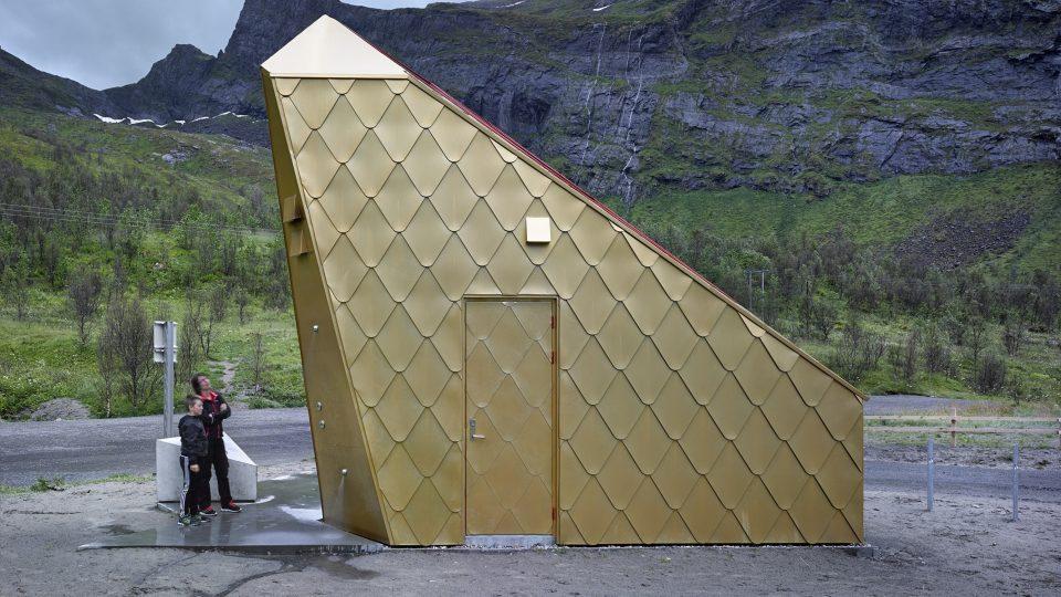 Ersfjordstranda, Tupelo arkitektur, turistická trasa: Senja, lokalita: Ersfjorden