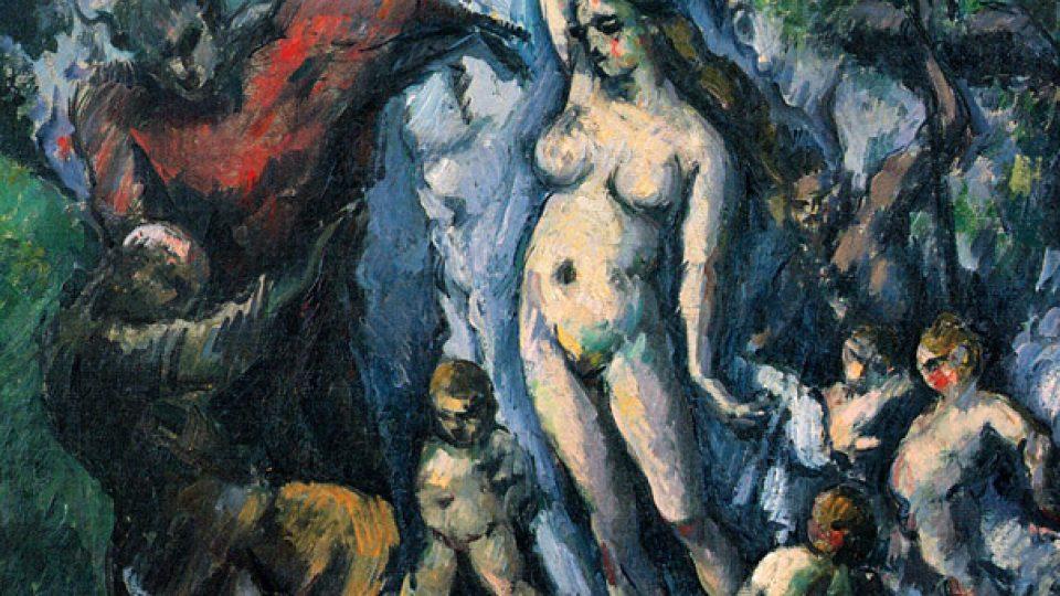 Paul Cézanne: Pokušení svatého Antonína, 1875-77